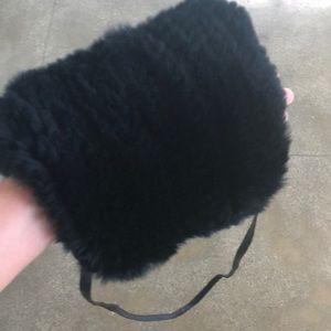 Accessories - Rabbit fur muff